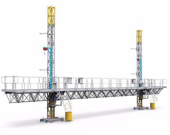 Construction-Mast-Climbing-Work-Platform